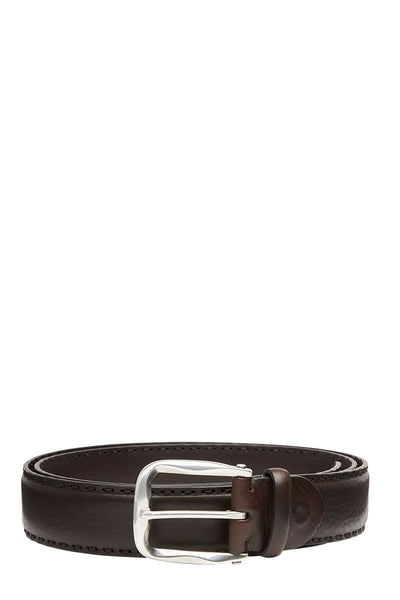 Paolo Vitale, Stitched Leather Belt