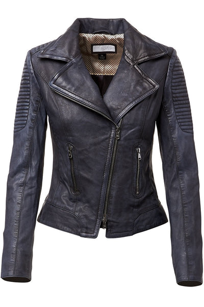 Eva Leather Moto Jacket