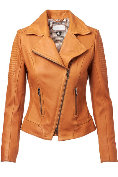 Schyia, Eva Leather Moto Jacket