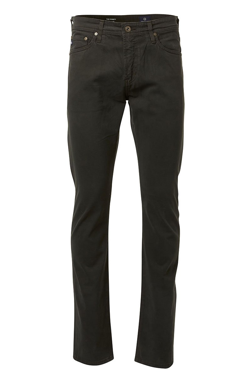 AG Jeans, The Everett Sueded Sateen Jeans
