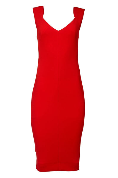 Victoria Beckham, Crepe Sheath Dress