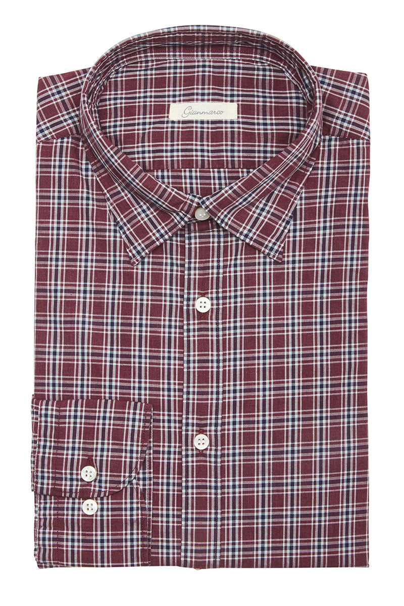 Gianmarco, Plaid Sportshirt