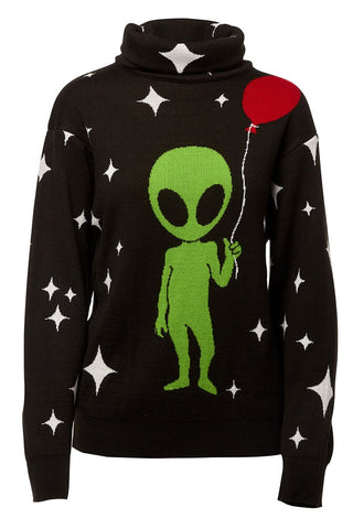 Alien Turtleneck Sweater