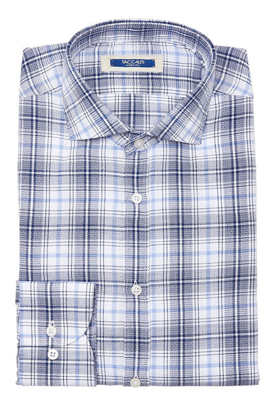 Taccaliti, Blue Plaid Sportshirt