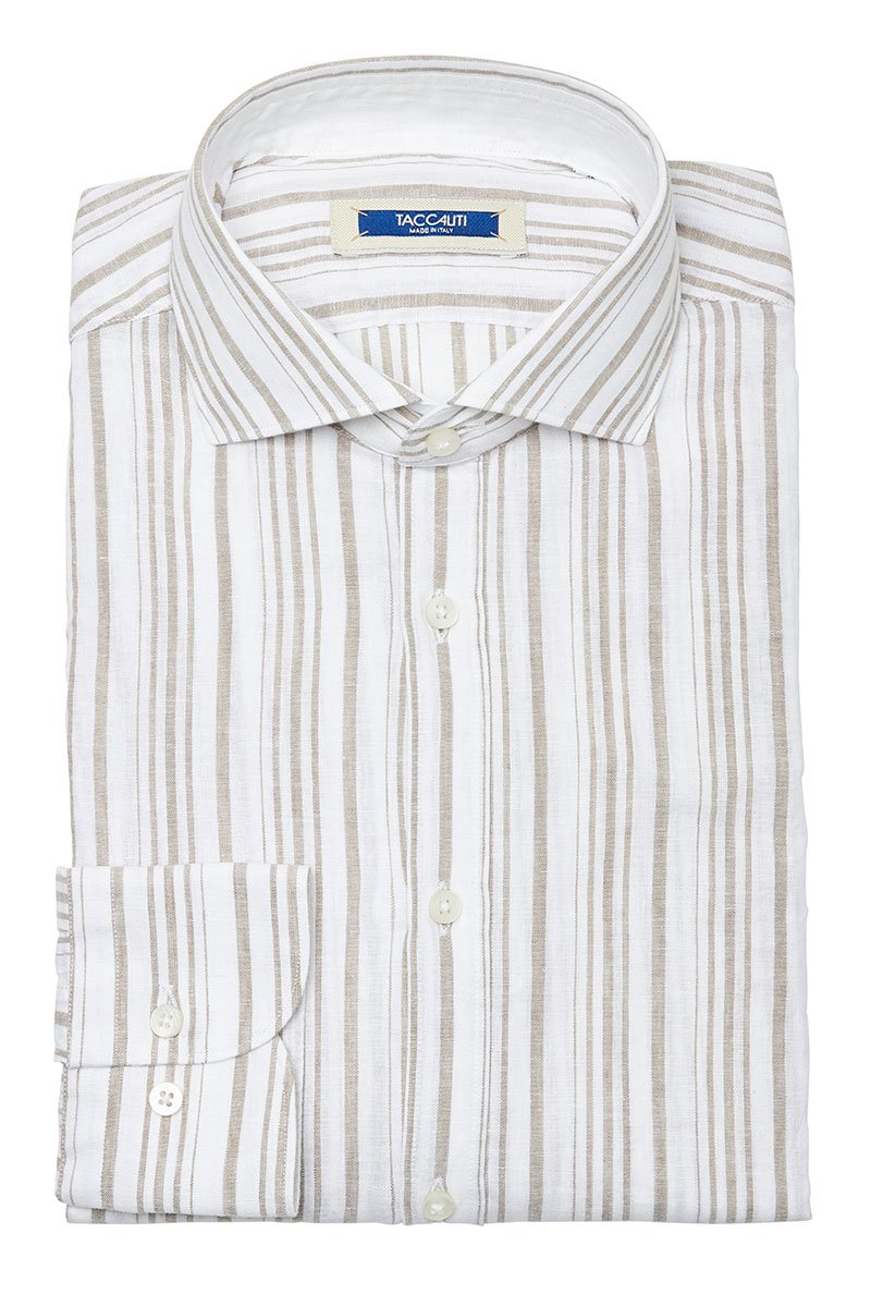 Taccaliti, Brown Stripe Sportshirt