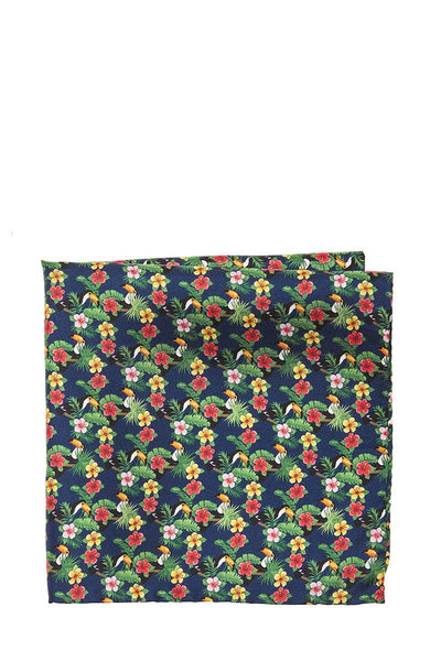 Altea, Tropical Tucan Pocket Square