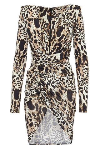 Alexandre Vauthier, Ruched Animal Dress