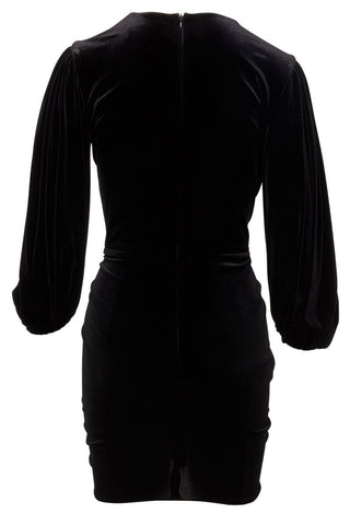 Alexandre Vauthier, Draped Velvet Mini Dress