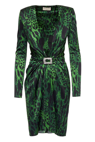 Alexandre Vauthier, Satin Animal Dress