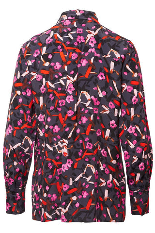 Dorothee Schumacher, Abstract Flowering Blouse