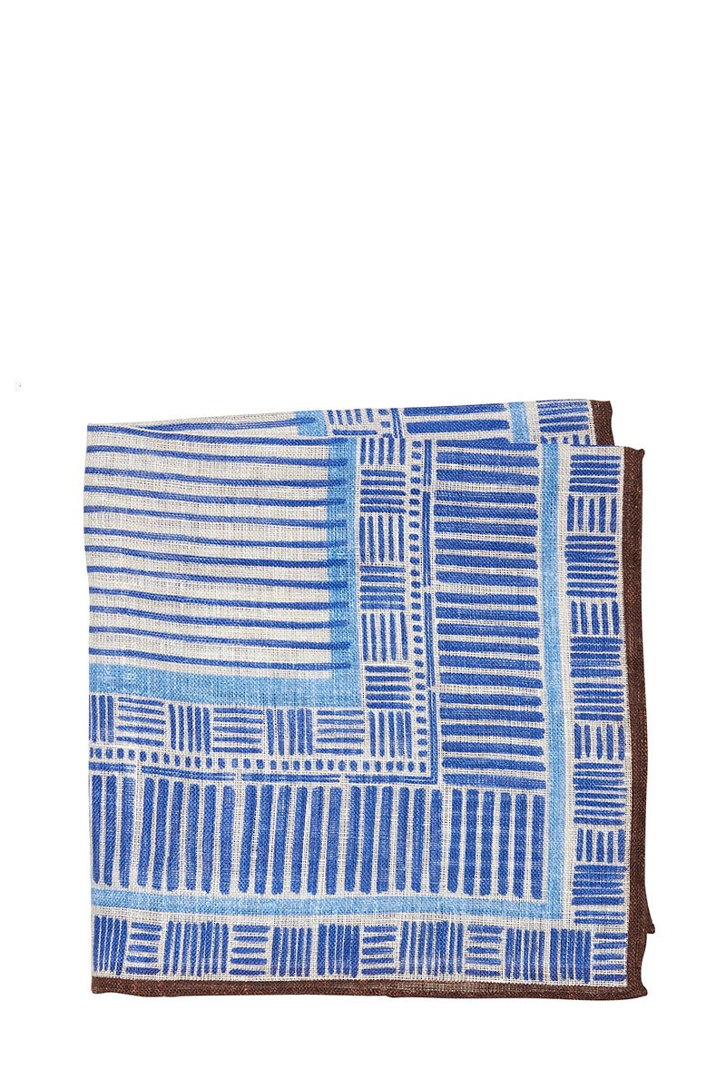Altea, Geo Stripes Pocket Square