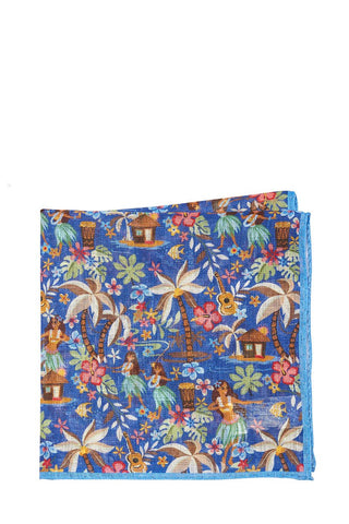 Altea, Tropical Pocket Square