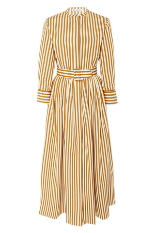 Oscar de la Renta, Striped Shirt Dress