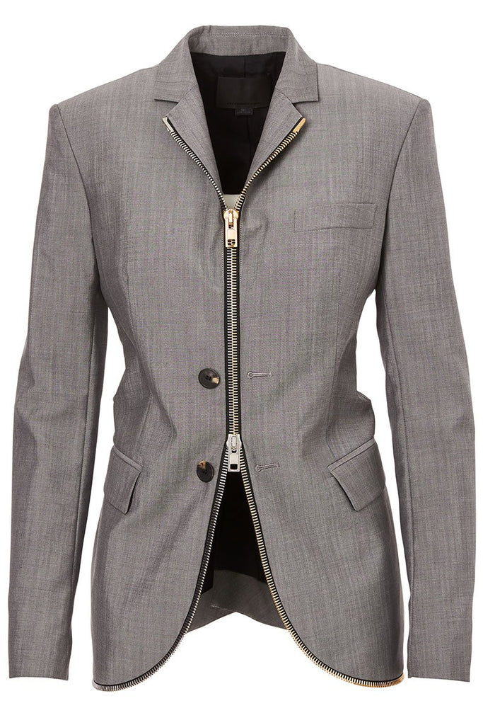 Men's Zipper Blazer