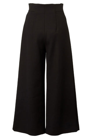 Zip Wide Leg Pants