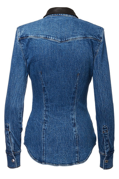 Alexander Wang, Shrunken Denim Shirt