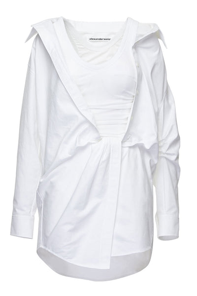 Alexander Wang, Twist Front Shirt Dress