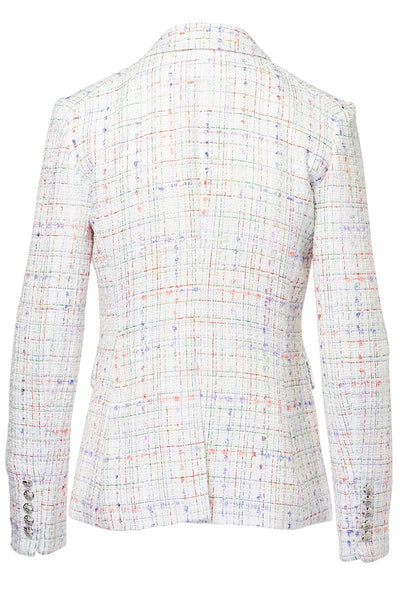 Veronica Beard, Cutaway Tweed Dickey Jacket
