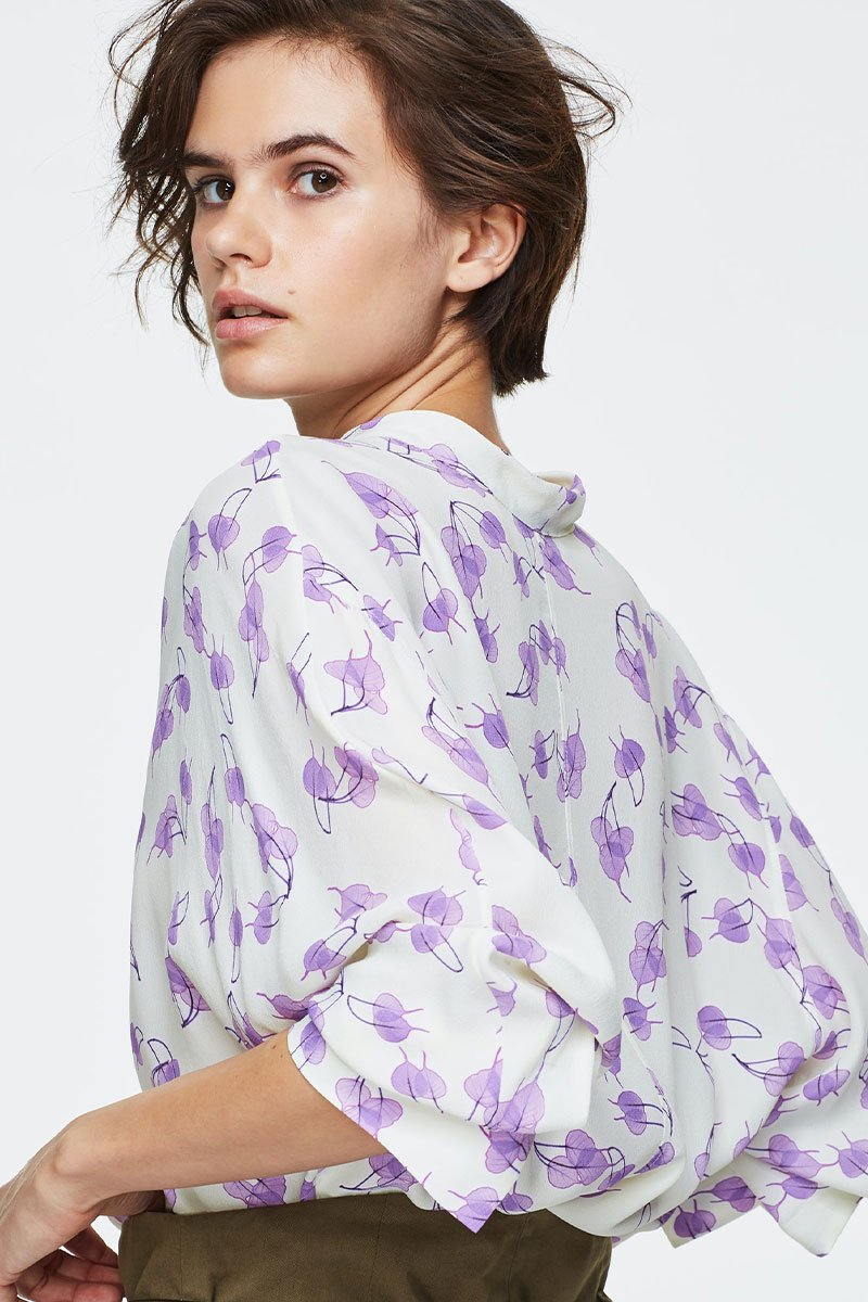 Radiant Leaves Blouse