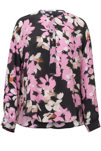 Floral Graphics Blouse