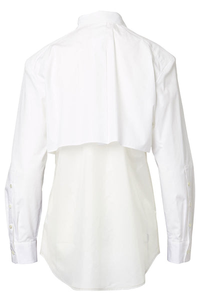 BASE MARK, Layered Blouse