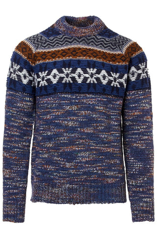 Fair Isle Mélange Sweater