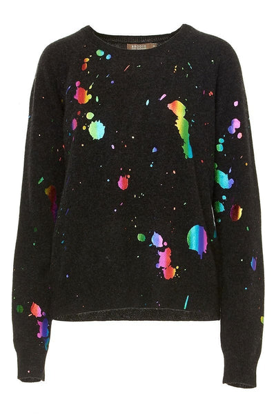 Rainbow Foil Sweater