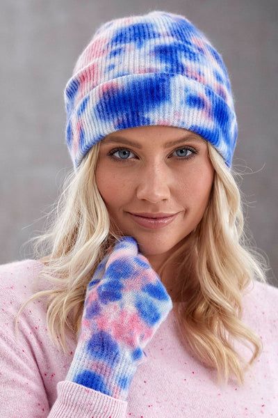 Cooper Tie-Dye Fingerless Gloves