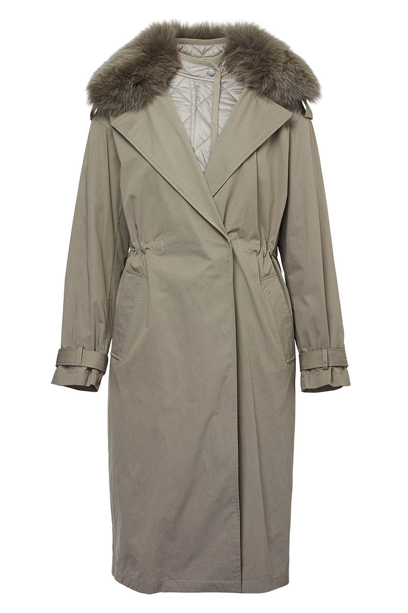 Army by Yves Salomon, Double Trench Coat