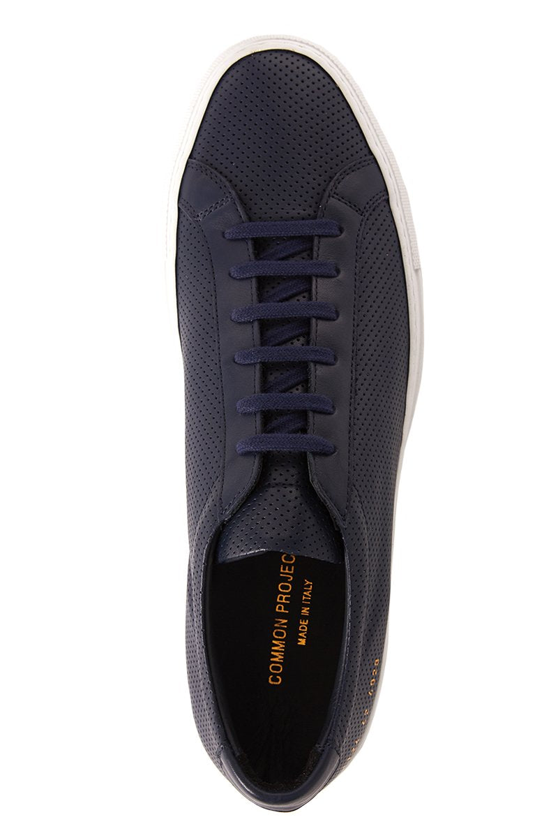 Common Projects, Perforated Achilles Leather Sneakers