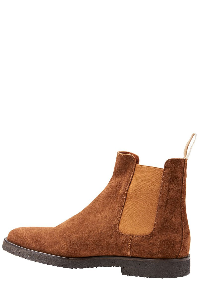 , Suede Chelsea Boots