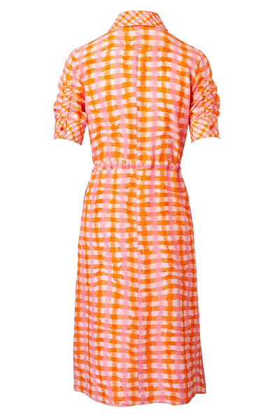 Altuzarra, Vittoria Vibrant Check Dress
