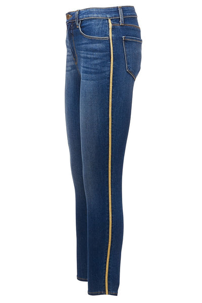 Margot Gold Stripe Jeans