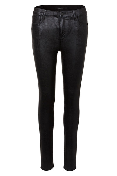 Maria High Rise Coated Skinny Jeans