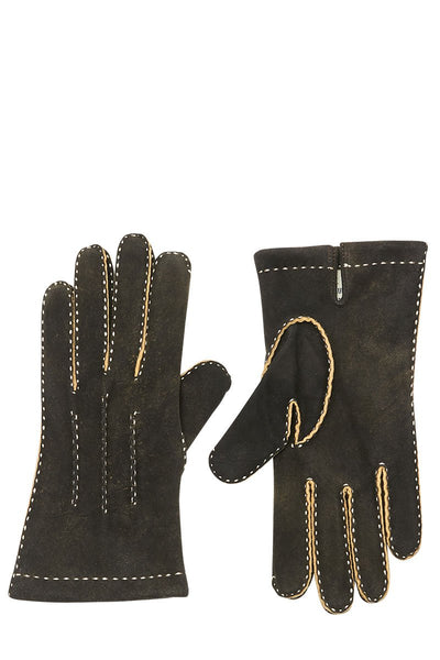 Thomas Riemer, Rugged Contrast Stitch Gloves