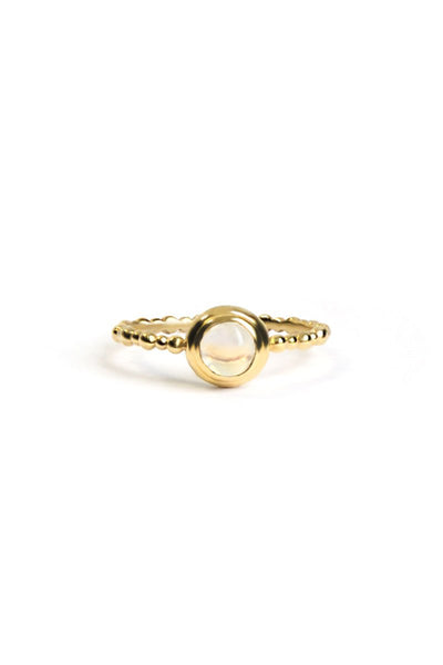 Anzie, Dew Drop Round Stackable Ring