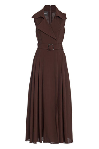 Long Trench Dress