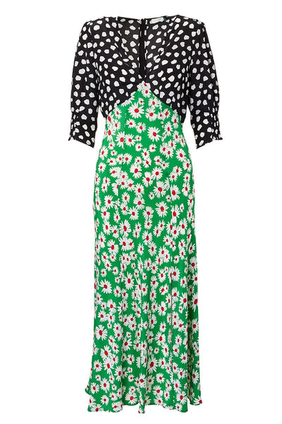 RIXO, Daisy Midi Dress