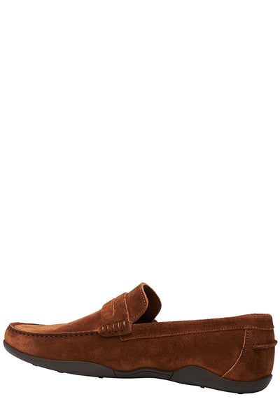 Harrys of London, Basel Kudu Suede Loafers