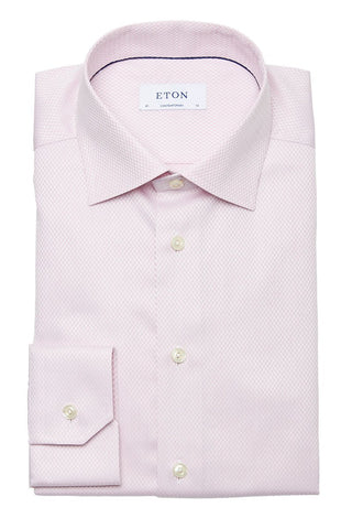 Eton, Herringbone Micro-Weave Dress Shirt