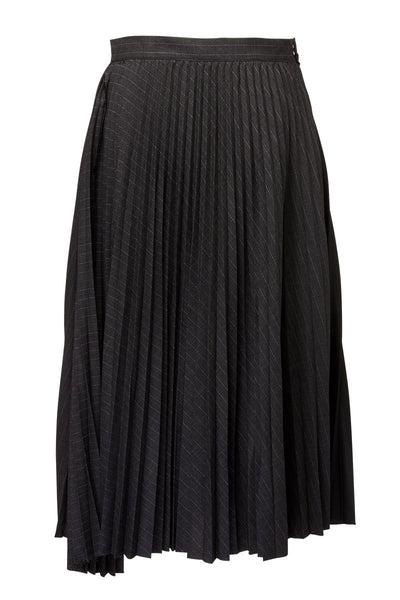 BASE MARK, Combo Pleated Skirt