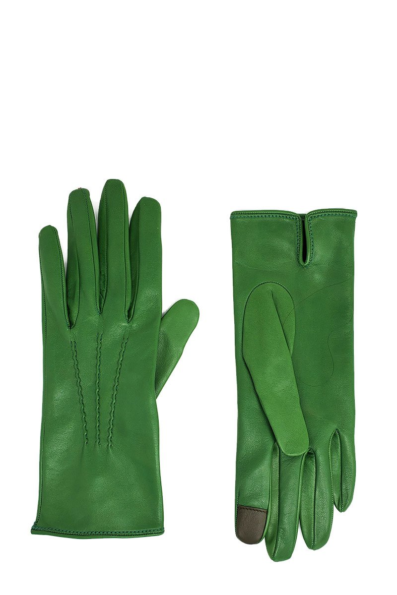 Seamed Leather Gloves
