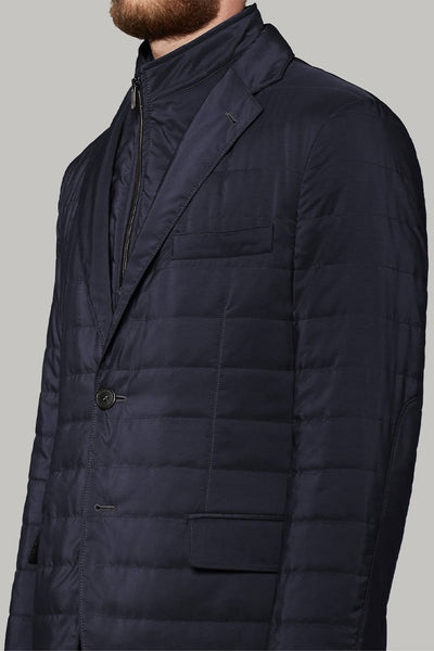 Quilted Jacket With Bib