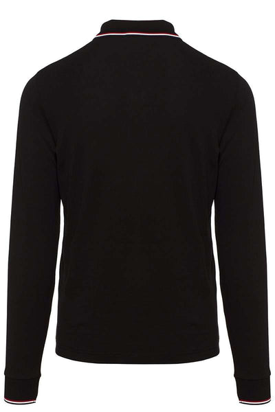 , Long Sleeve Polo Shirt