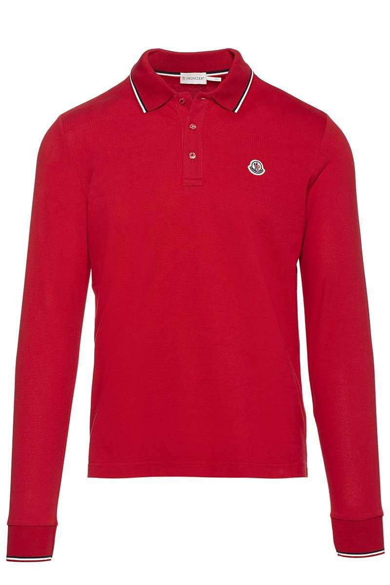 Long Sleeve Polo Shirt By Moncler Boyds Philadelphia