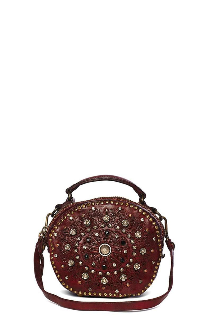 Embellished Round Bag