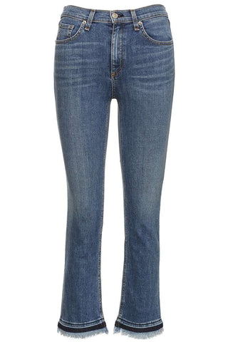 Hana High-Rise Cropped Jeans