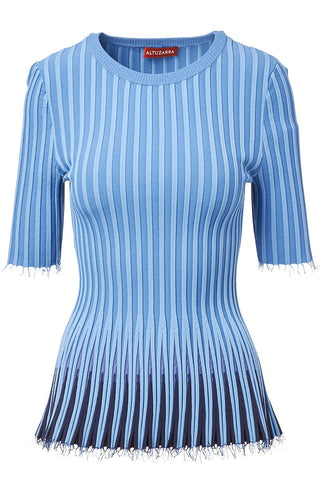 Altuzarra, Novello Ribbed Knit Top