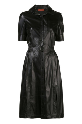 Kura Leather Dress