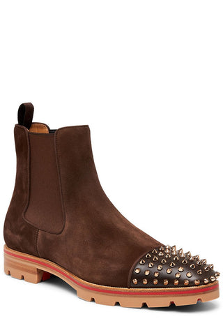 Melon Spikes Ankle Boot